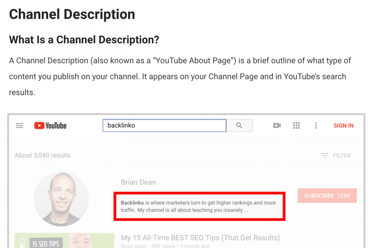 Xếp hạng trong mục Featured Snippets 02